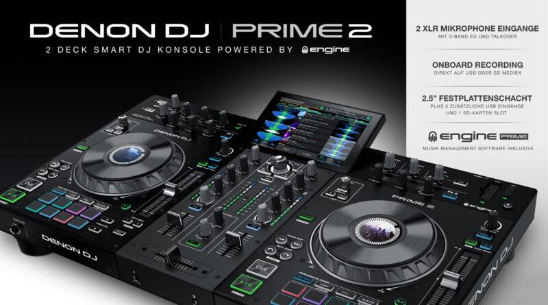 Denon PRIME 2 DJ System - Jetzt lieferbar