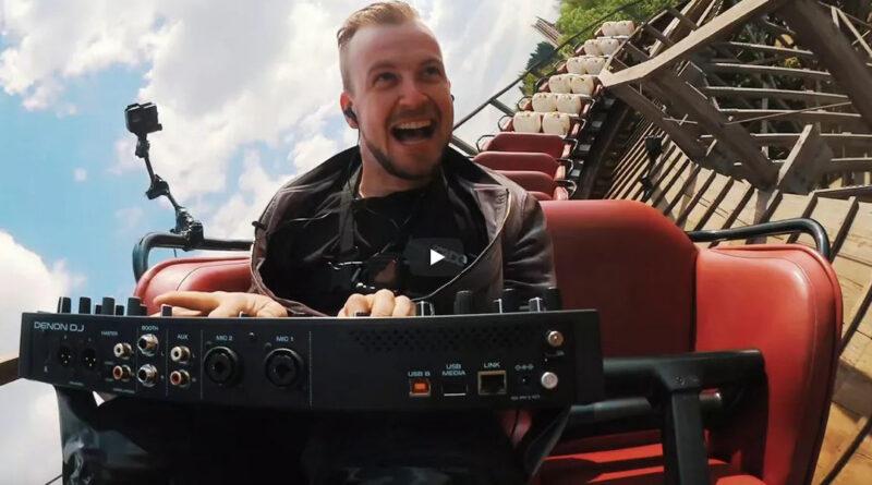 Denon DJ PRIME GO DJ Controller - Weltpremiere - Deutschlands schnellste und höchste DJ-Fahrt?