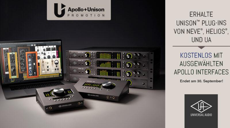 Gratis PlugIns bei Kauf eines UA Apollo Interfaces