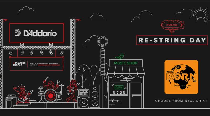 D'Addario Restring Day 2020