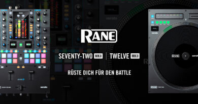 Rane DJ Seventy-Two MKII und Twelve MKII