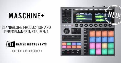 Native Instruments MASCHINE+ angekündigt
