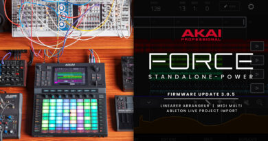 Akai Professional Force - Relaunch - OS Update 3.0.5.
