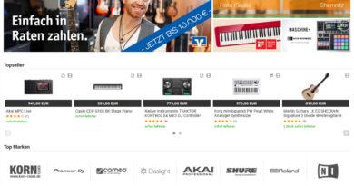 Musikhaus Korn Über 1.000.000 Kunden