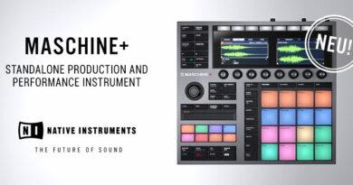 Native Instruments MASCHINE+ - Jetzt lieferbar