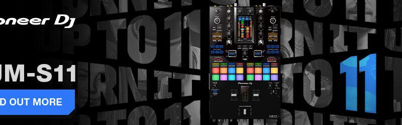 Pioneer DJM-S11 + DJM-S11-SE