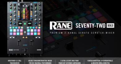 Rane DJ Seventy-Two MKII - Jetzt erhältlich