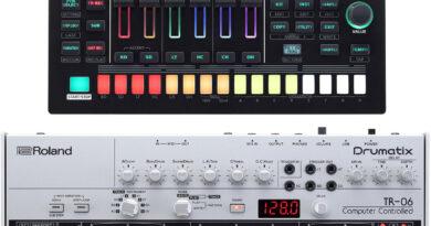 Roland TR-6S und TR-06 Drumatrix vorgestellt