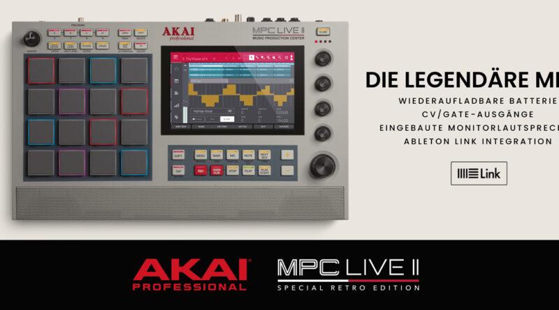 Akai Professional MPC Live II Retro Limitierte Edition