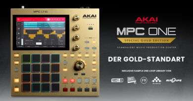 Akai Professional MPC ONE Gold vorgestellt