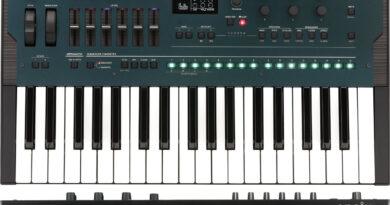 KORG opsix FM Synthesizer vorgestellt