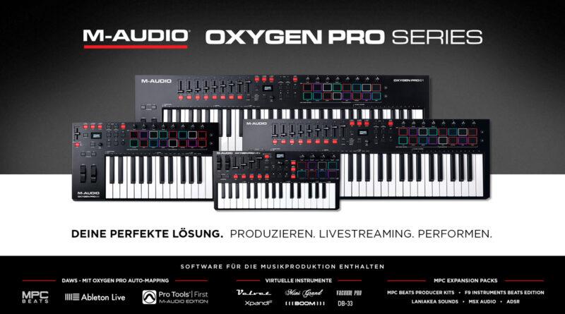 M-Audio Oxygen Pro MIDI Controller vorgestellt