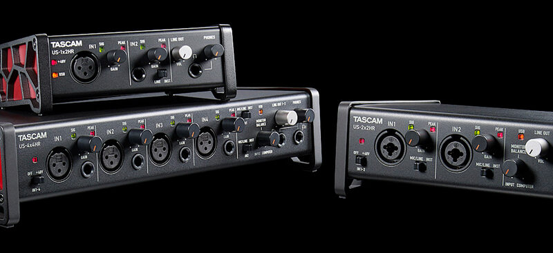 Tascam US-HR Audio Interfaces vorgestellt