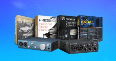 PreSonus Studio One Premium Add-On Bundle gratis