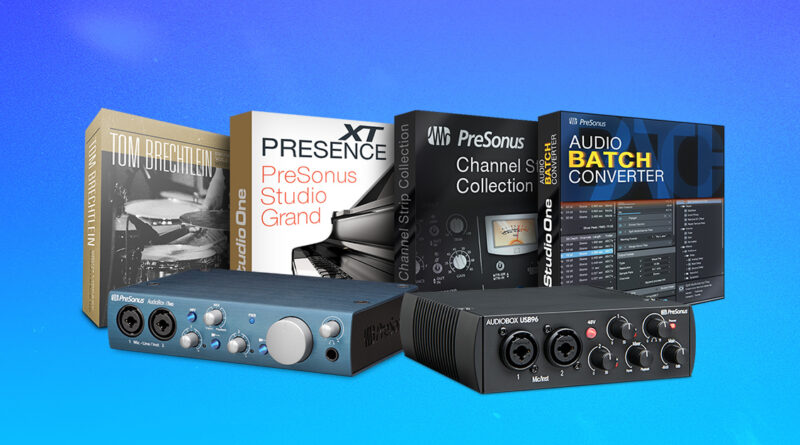 PreSonus Studio One Premium Add-On Bundle gratis
