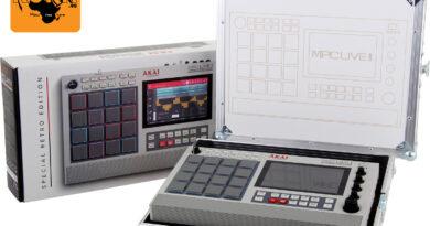 Verlosung - Akai Pro MPC Live II Retro + MPC Case im Sonderdesign