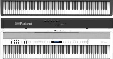 Roland FP-X Digiatlpianos vorgestellt