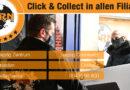 Abholung wieder möglich - Click & Collect