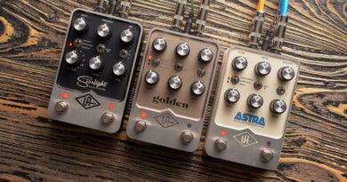 Universal Audio UAFX Pedale vorgestellt
