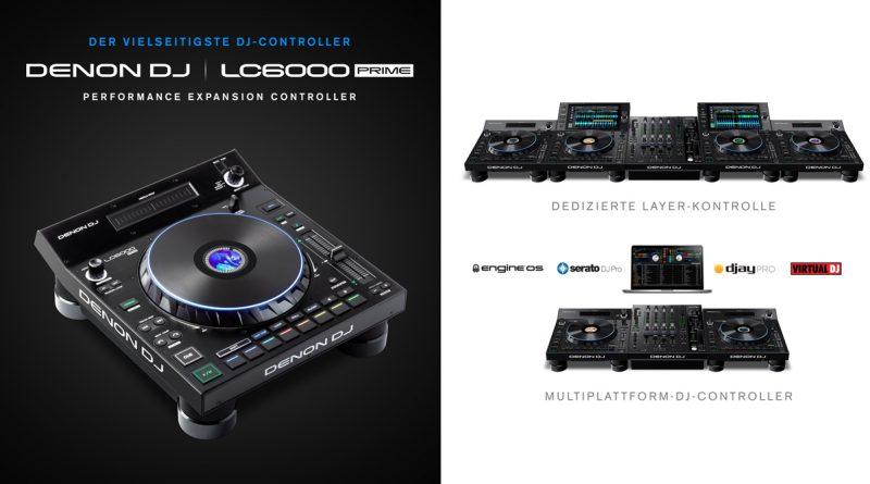 Denon DJ LC6000 PRIME DJ Controller vorgestellt
