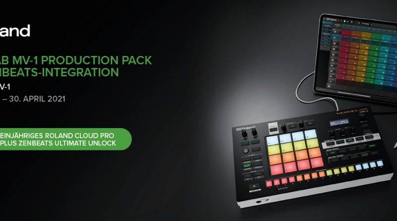 Roland Verselab MV-1 - 1 Jahr Roland Cloud Pro mit Zenbeats Ultimate Unlock