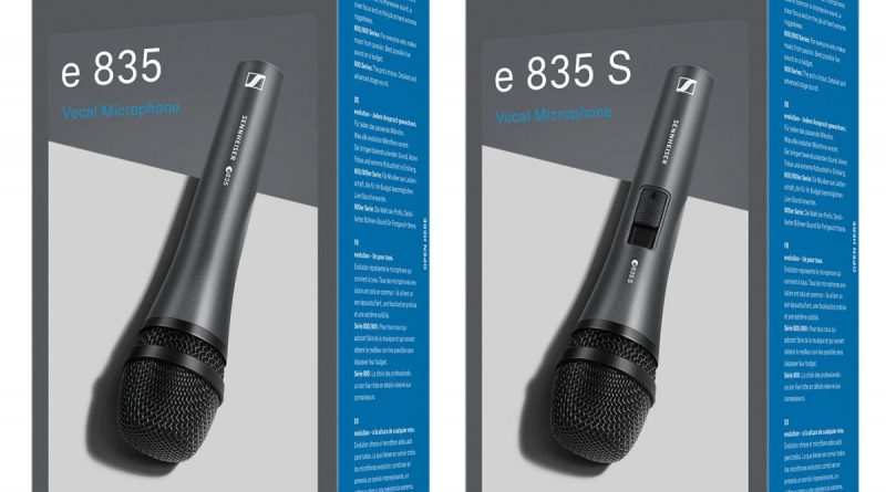 Sennheiser E 835 S zum Sonderpreis