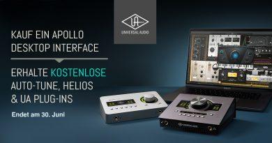 Universal Audio Apollo - Plug-Ins im Wert von bis zu 1543 Euro gratis