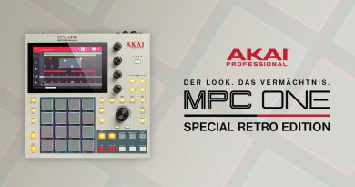 Akai Professional MPC ONE Retro Edition vorgestellt