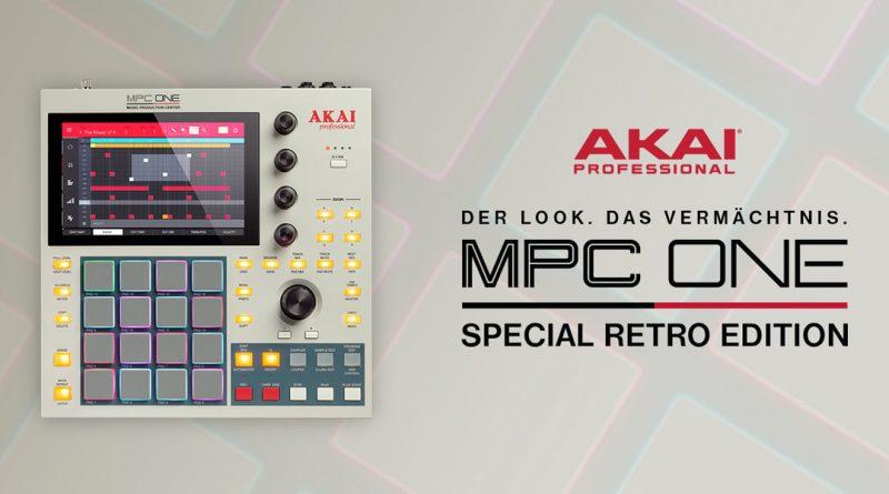 Akai Professional MPC ONE Retro Edition vorgestellt