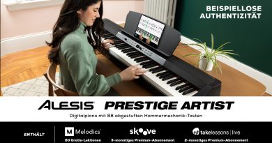 Alesis Prestige + Prestige Artist Digitalpianos angekündigt
