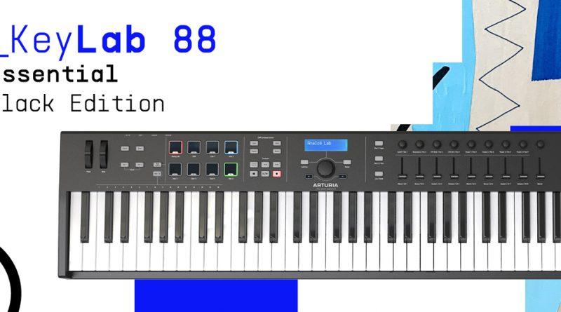 Arturia KeyLab Essential 88 Black Edition vorgestellt