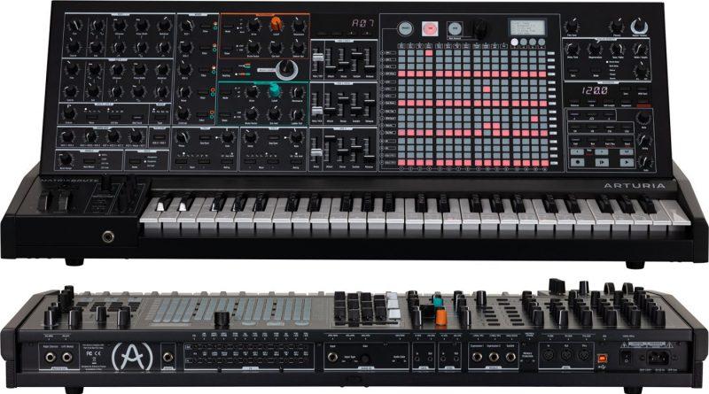 Arturia MatrixBrute Noir Synthesizer Limited Edition