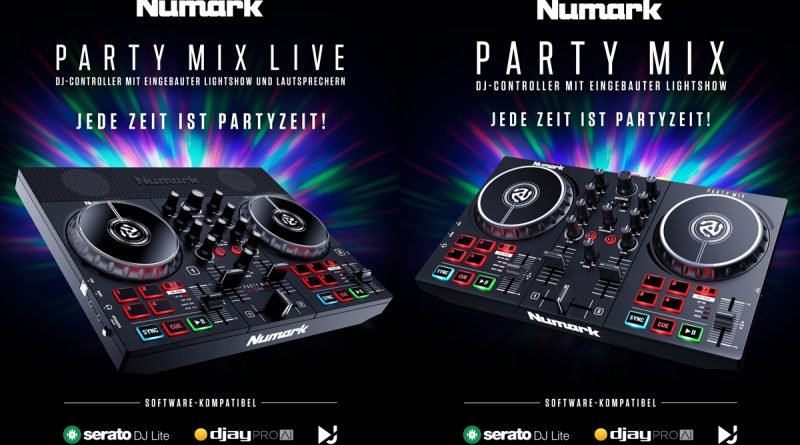 Numark Party Mix II und Party MIX Live DJ Controller
