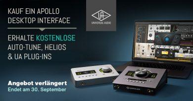 Verlängert - Universal Audio Apollo - Plug-Ins bis zu 1543 Euro gratis
