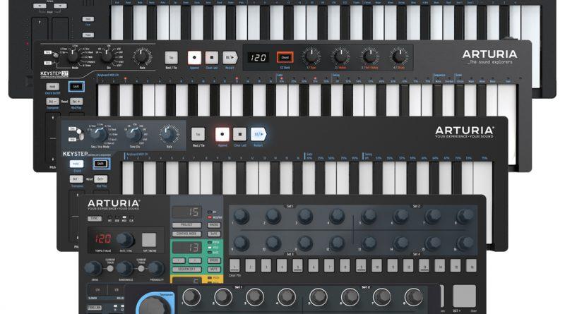Arturia KeyStep 37 + KeyStep Pro jetzt auch als Black Edition
