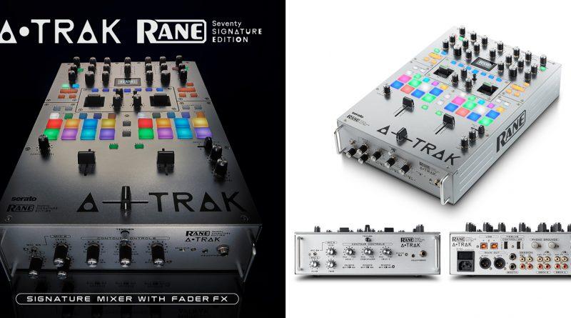 Rane DJ Seventy A-Trak Battle Mixer Signature Edition