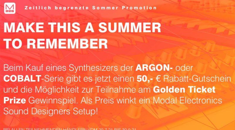 Modal Electronics - 50,00 Euro Gutschein für ausgewählte Synthesizer