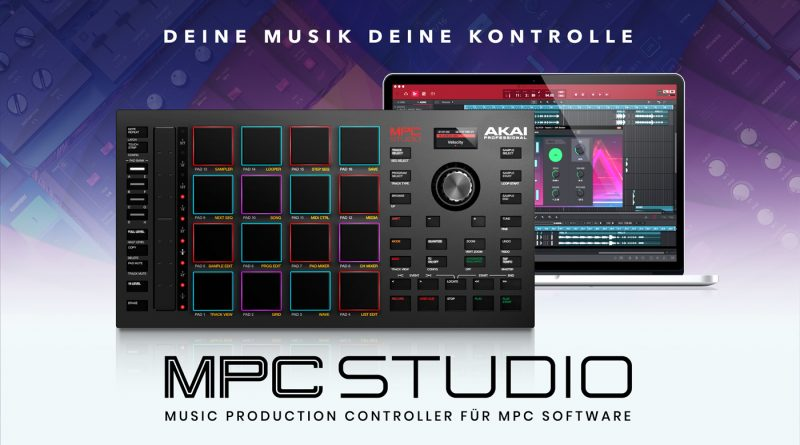 Akai Professional MPC Studio vorgestellt