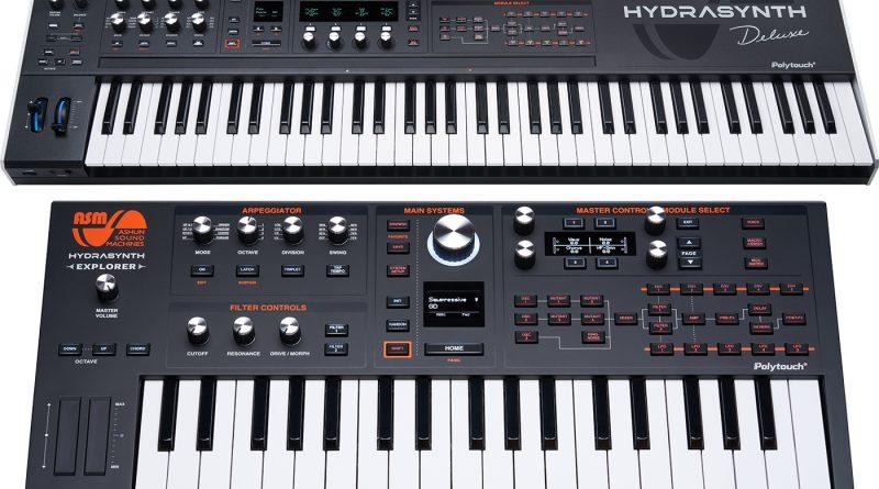 ASM Hydrasynth Deluxe und Hydrasynth Explorer angekündigt