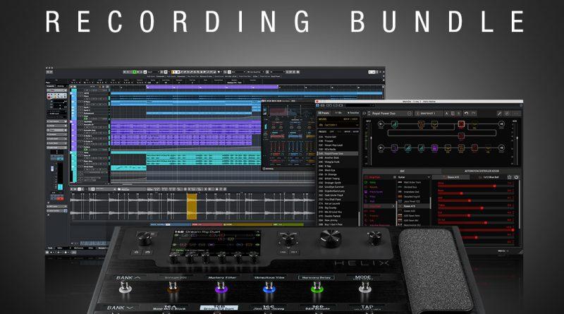 Line6 Helix Recording Bundle - Sonderaktion