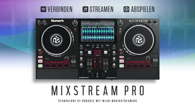 Numark Mixstream Pro vorgestellt
